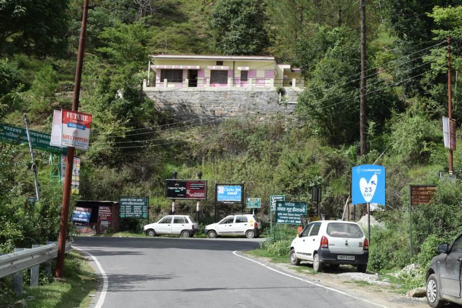 Almora to Chita near pataldevi