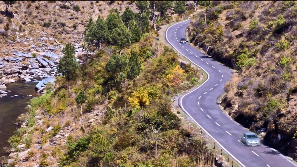 Almora to Nainital Road