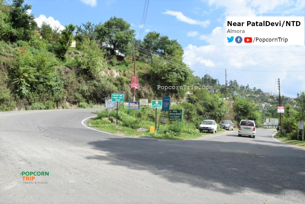 Shail Bend, near PatalDevi