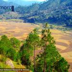 Scenic place between Kausani & Almora