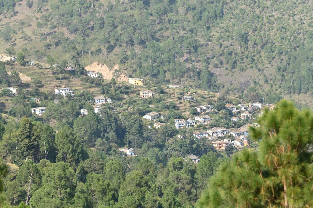 Village View from Green Garden HomeStay
