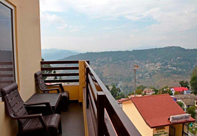 Hotel Shikhar Balcony