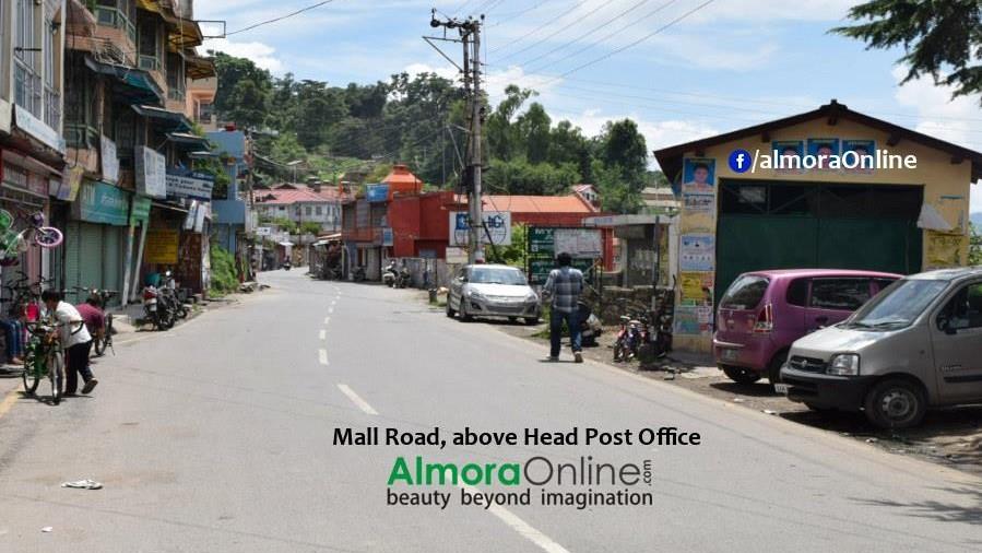 Mall Road Almora