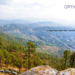 view from Kasar Devi towards Almora town