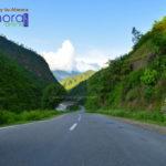 way to Almora near Khairna
